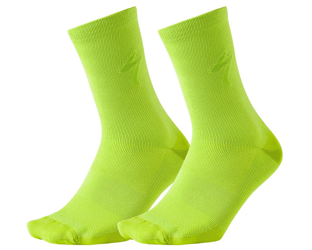 Specialized HyprViz Soft Air Reflective Tall Socks (HyperViz) (M)