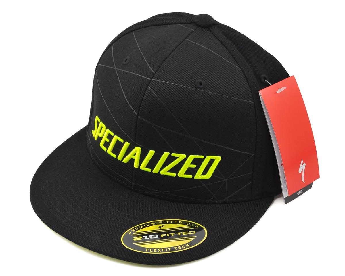 Specialized Podium Hat FlexFit (Black/Hyper Green)