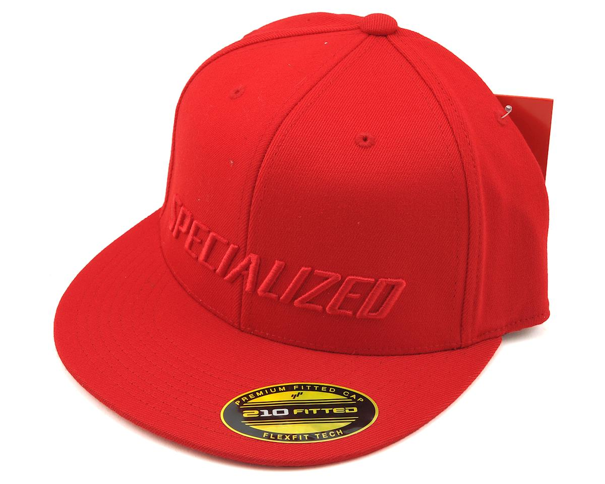 f44fb008374 Specialized Podium Hat FlexFit (Red Red) (S M)  64816-1252 ...