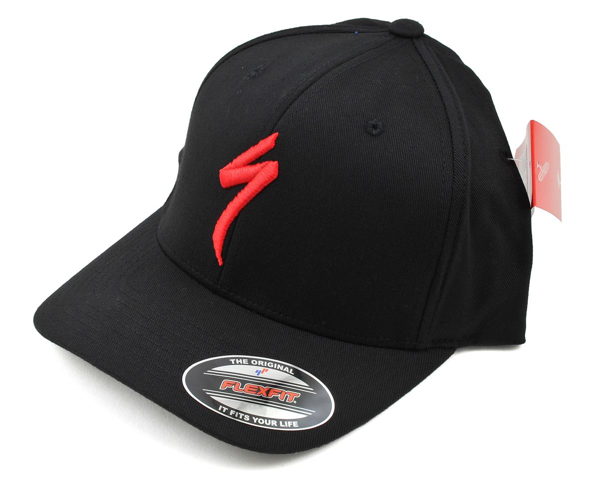 Specialized Podium Hat Flex Fit (Black/Red)