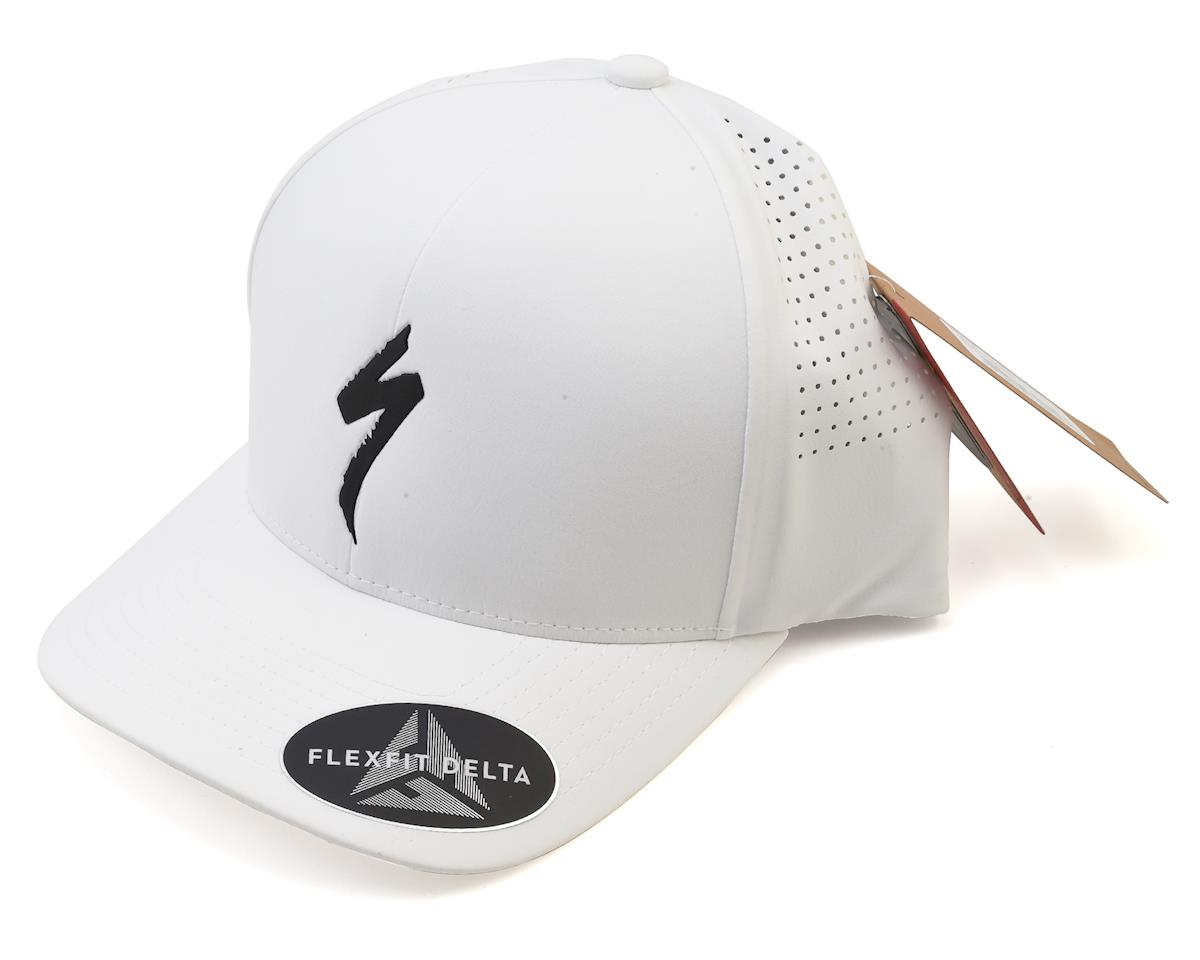 Specialized Flexfit Hat (White/Black) (One Size Fits Most)