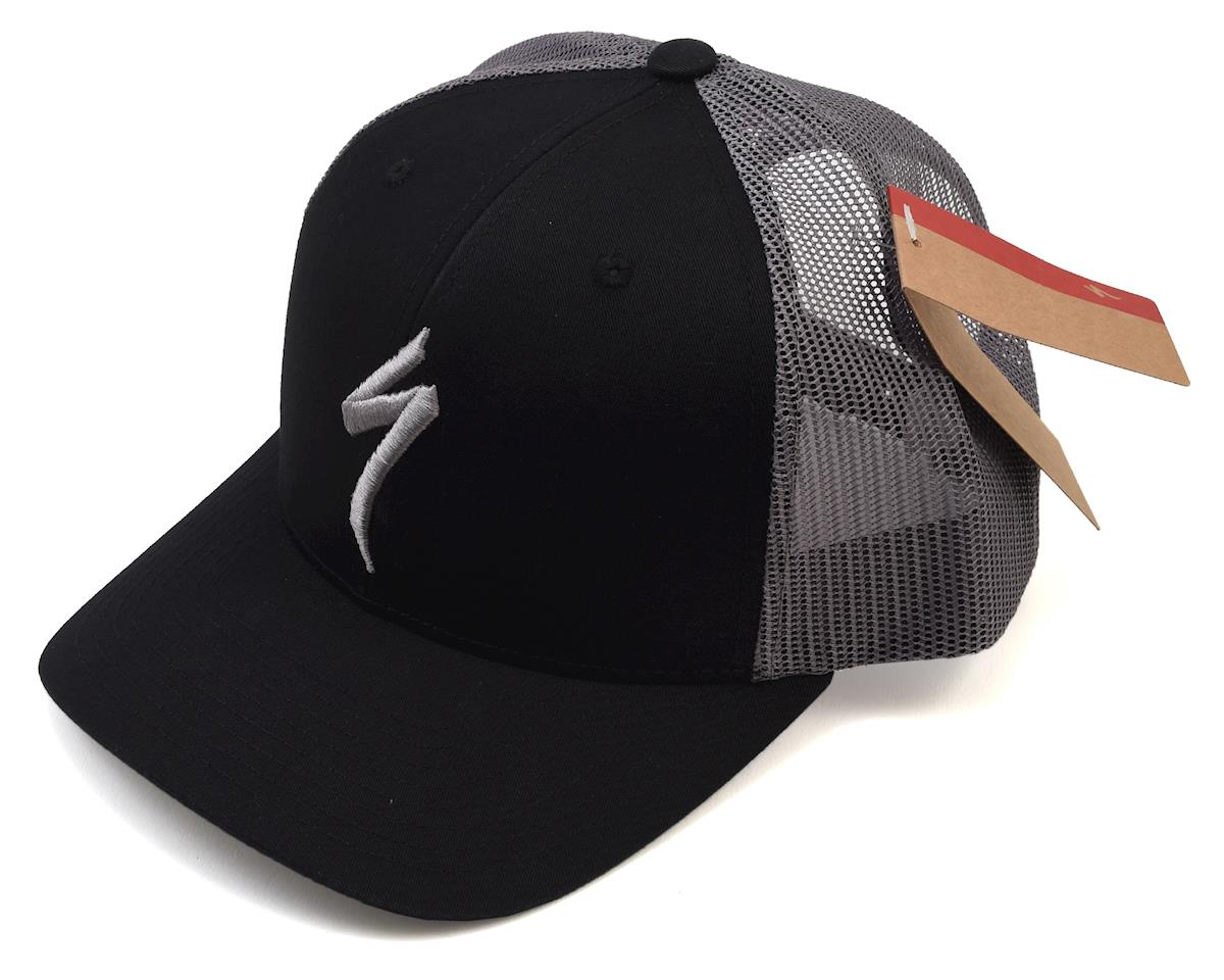 Specialized Trucker Hat (Black/Charcoal) (One Size Fits Most)