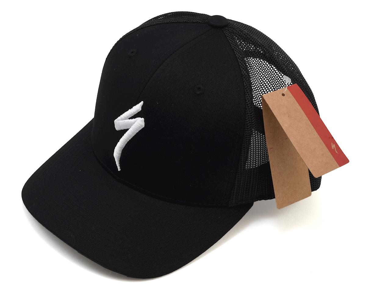 Specialized Trucker Hat (Black/White) (One Size Fits Most)