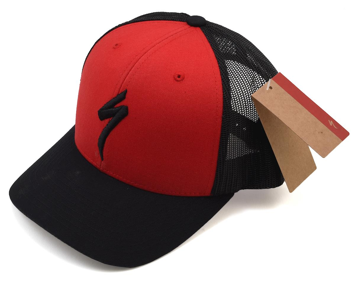 Specialized Trucker Hat (Red/Black) (One Size Fits Most)
