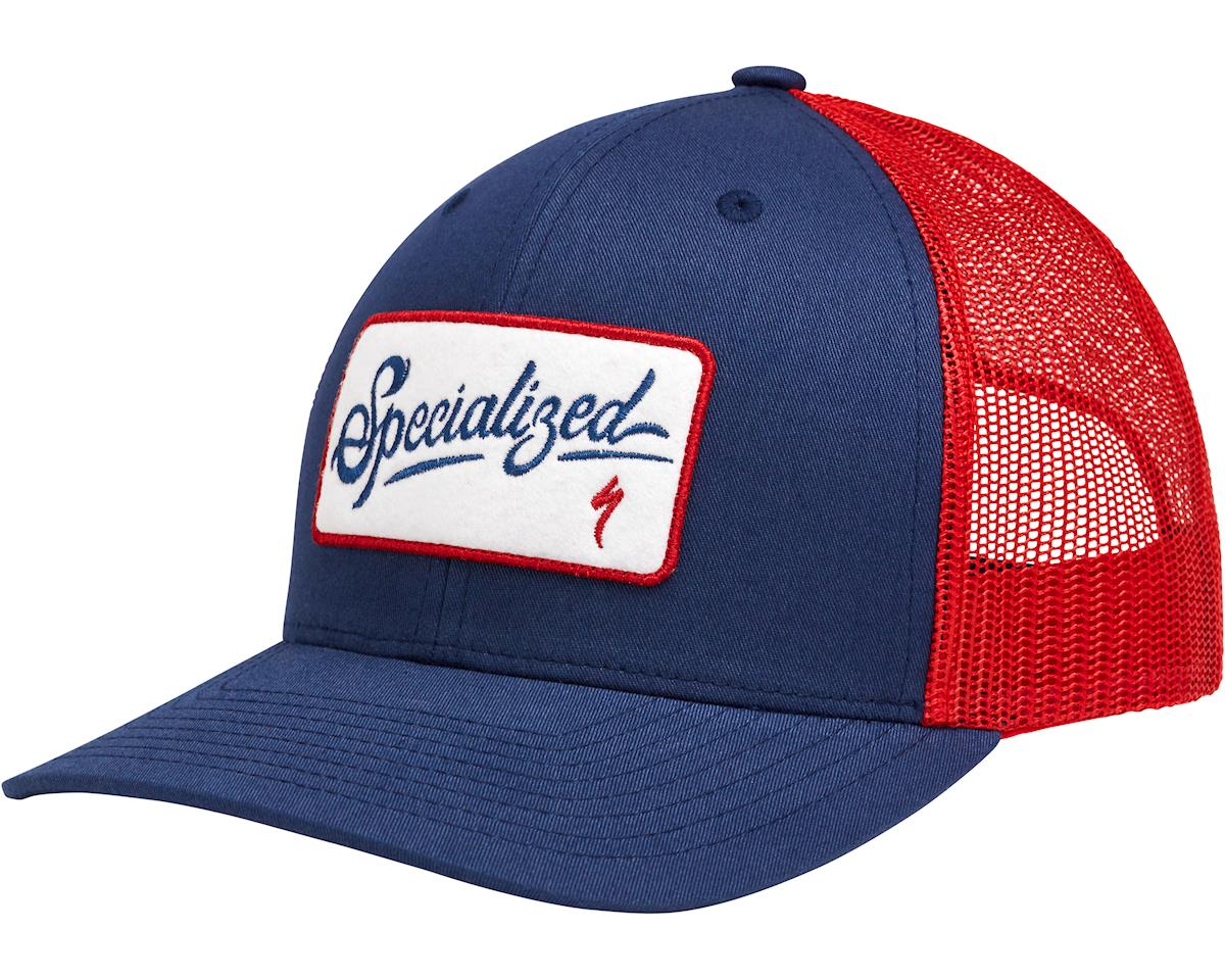 Specialized Snapback Trucker (Red/White/Blue) (One Size)