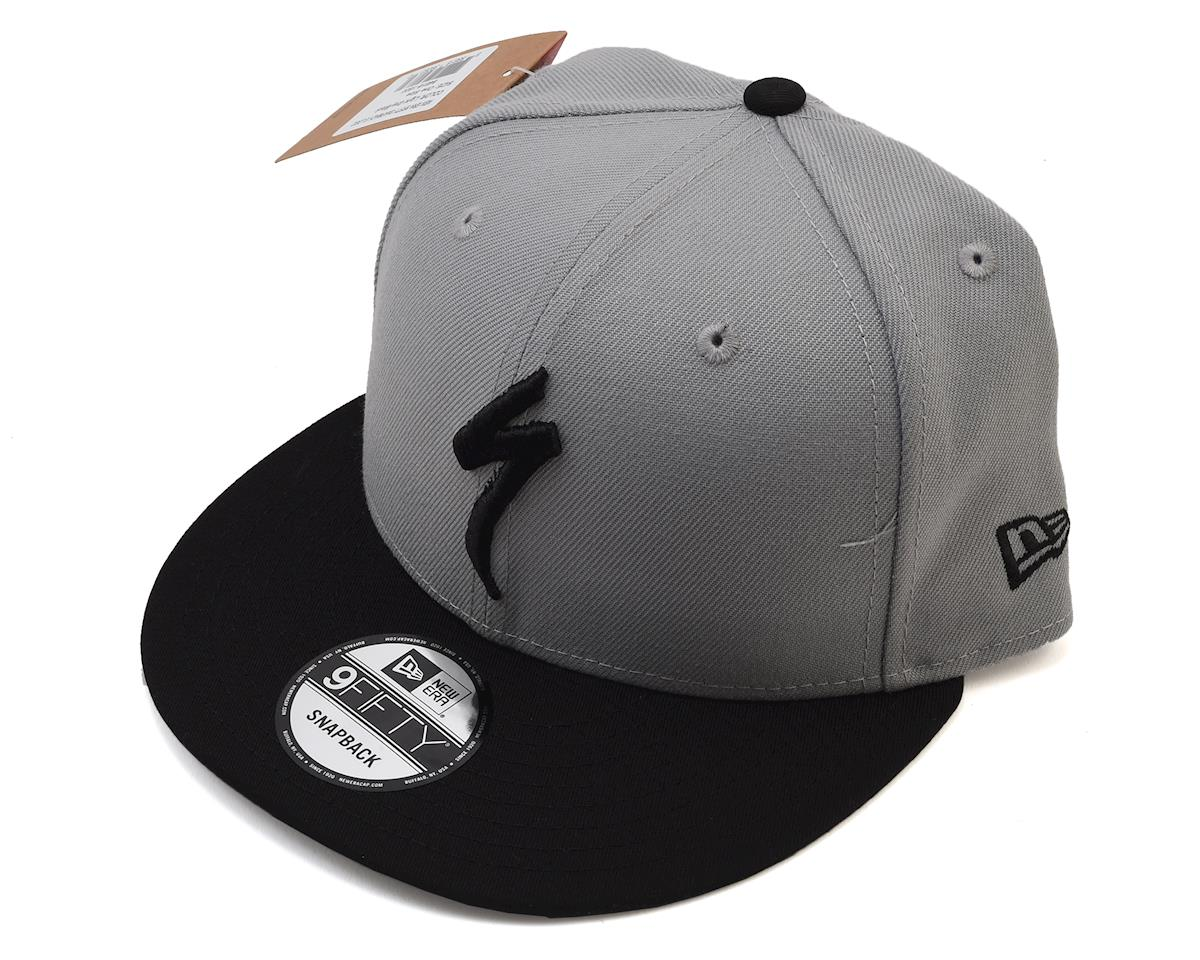 Specialized Snapback Hat (Light Grey/Black) (One Size) [64818-1800] | Mountain - AMain Cycling [64818-1800
