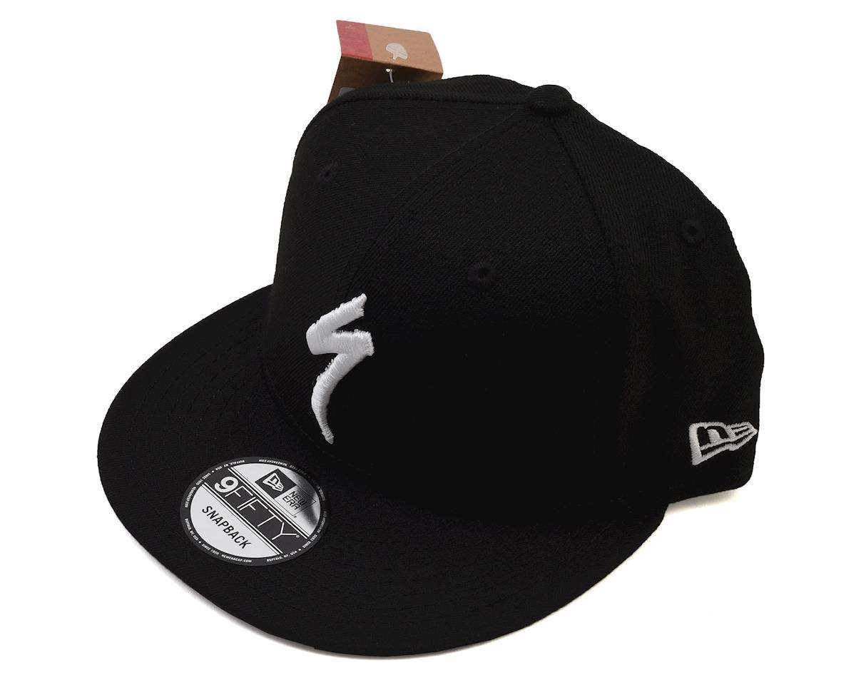 Specialized Snapback Hat (Black/White) (One Size)