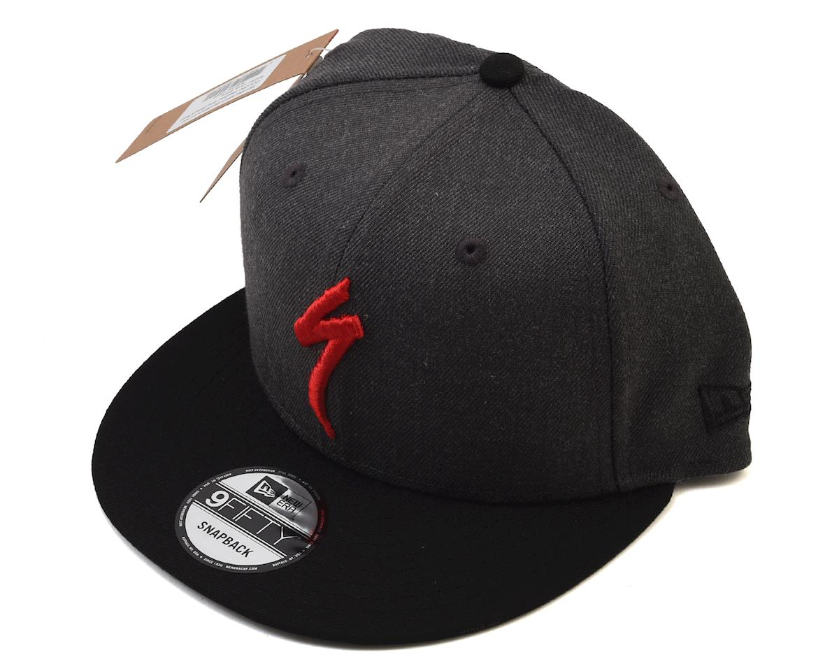 Specialized Snapback Hat (Heather Gray/Black/Red) (One Size)