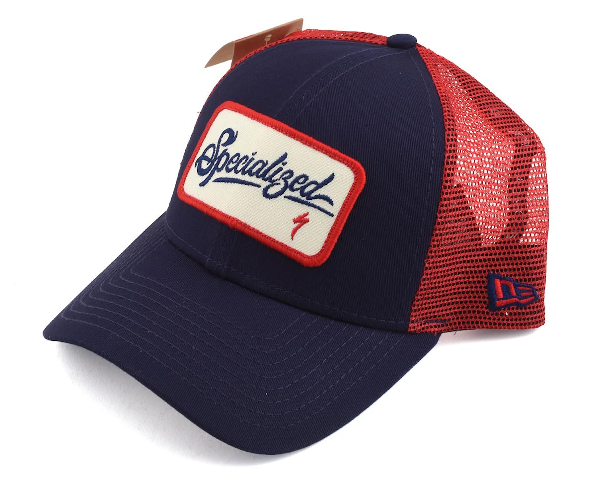 Specialized Trucker Hat (Red/Blue/White) (One Size Fits Most)