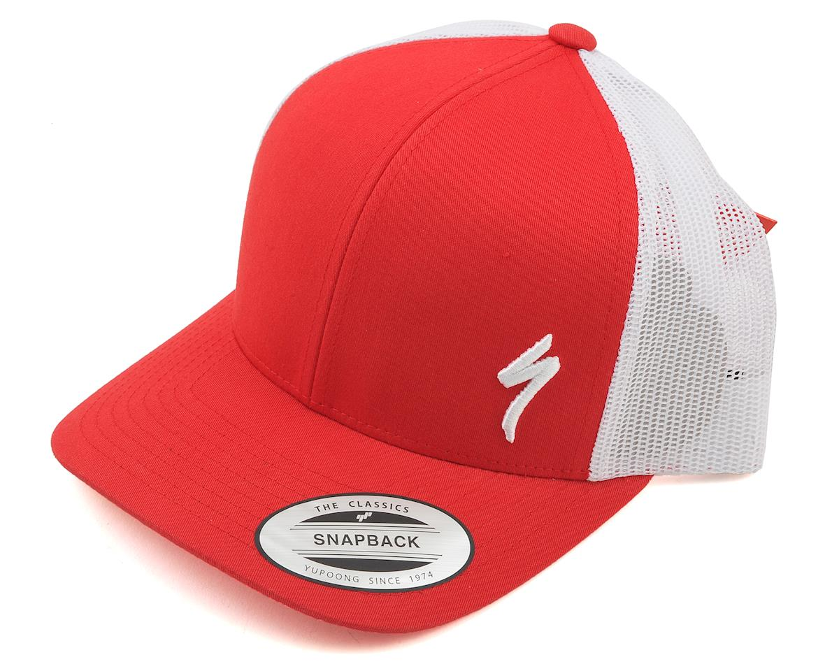 Specialized Podium Hat - Trucker Fit (Red/White) (One Size)