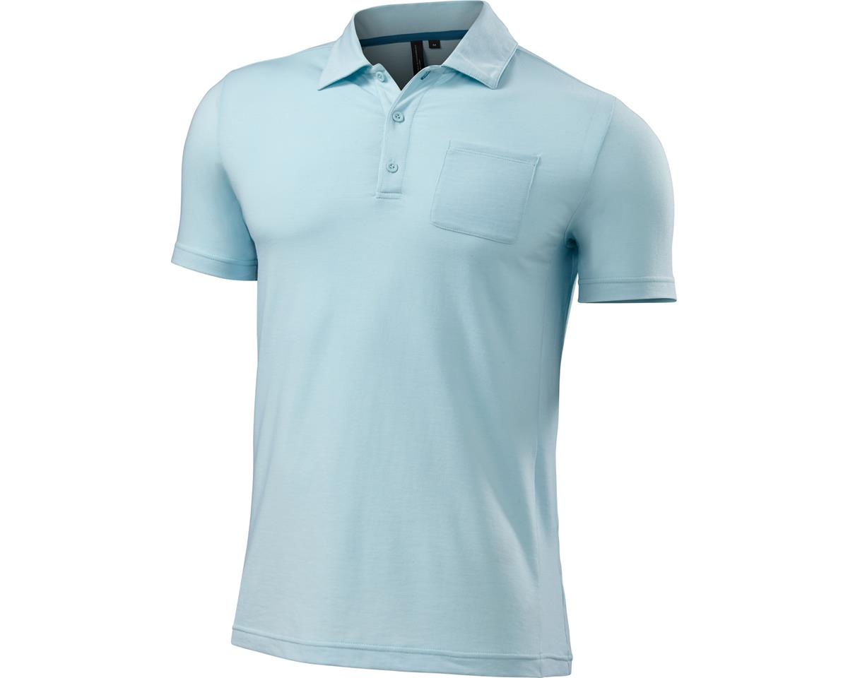 Specialized Utility Polo (Baby Blue Heather) (XL)
