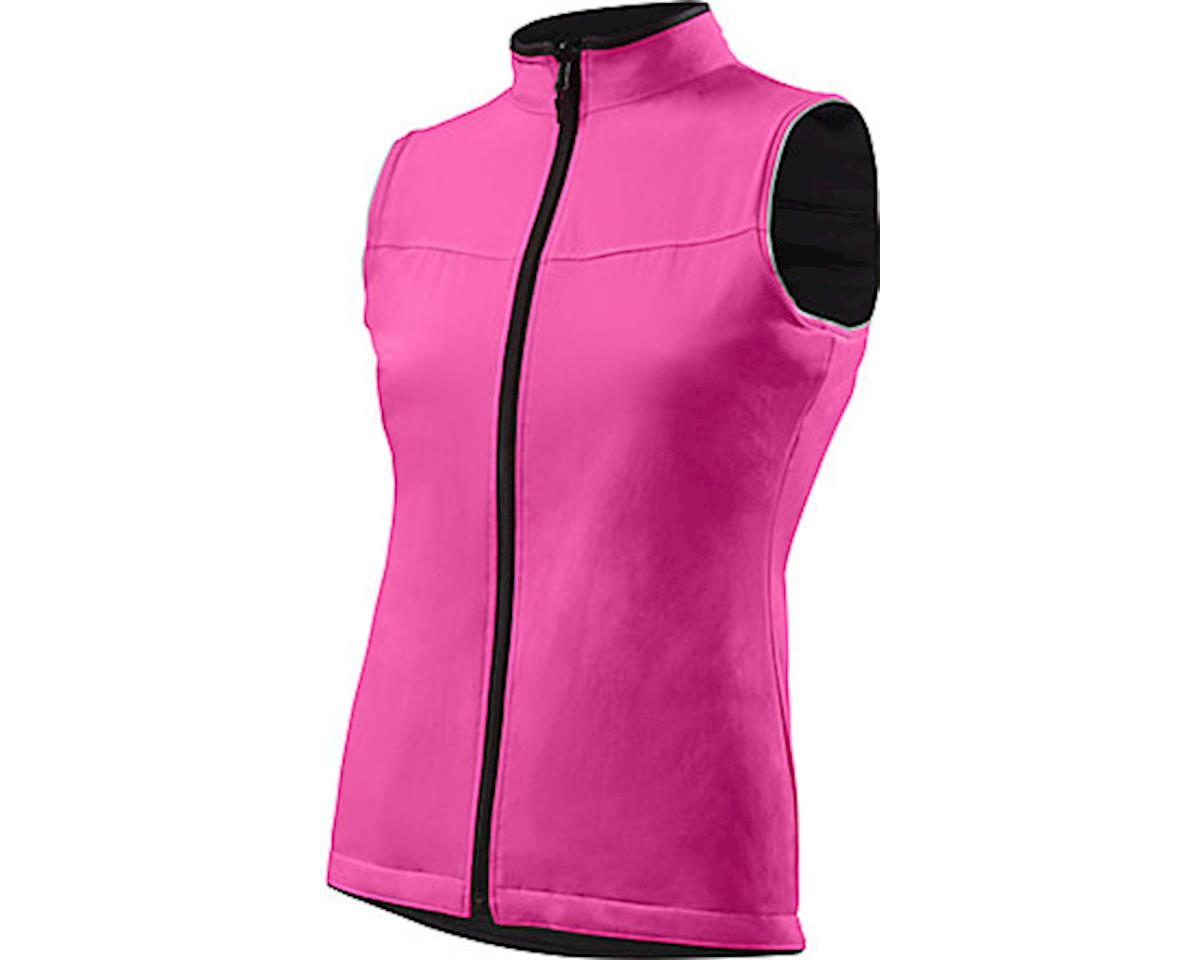 Specialized Women's Utility Reversible Vest (Black/Neon Pink)