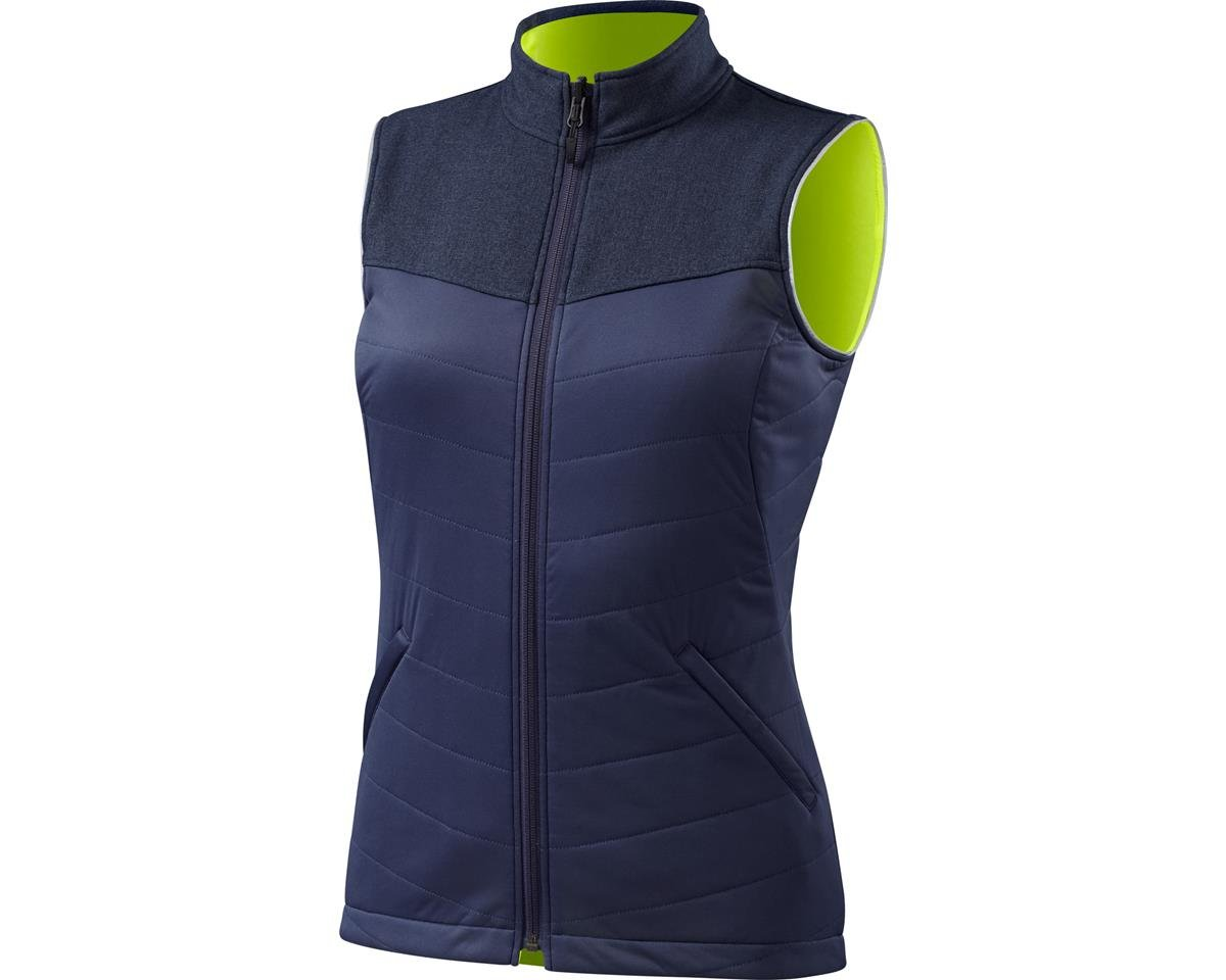 Specialized Women's Utility Reversible Vest (Navy/Neon Yellow)