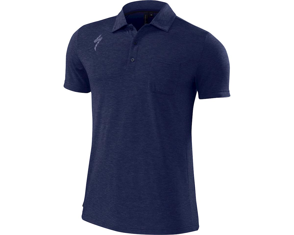 Specialized Utility Polo (Deep Indigo/Carbon Heather) (2XL)