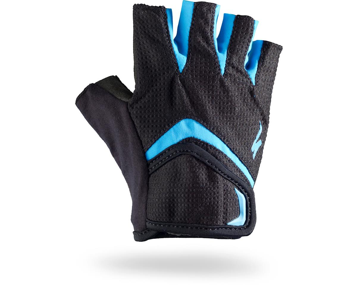 Specialized Body Geometry Kids Gloves (Black/Blue) (2XL)