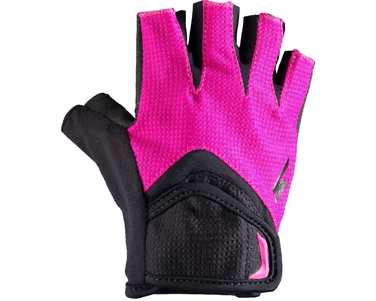 Specialized Body Geometry Kids Gloves (Black/Pink) (2XL)