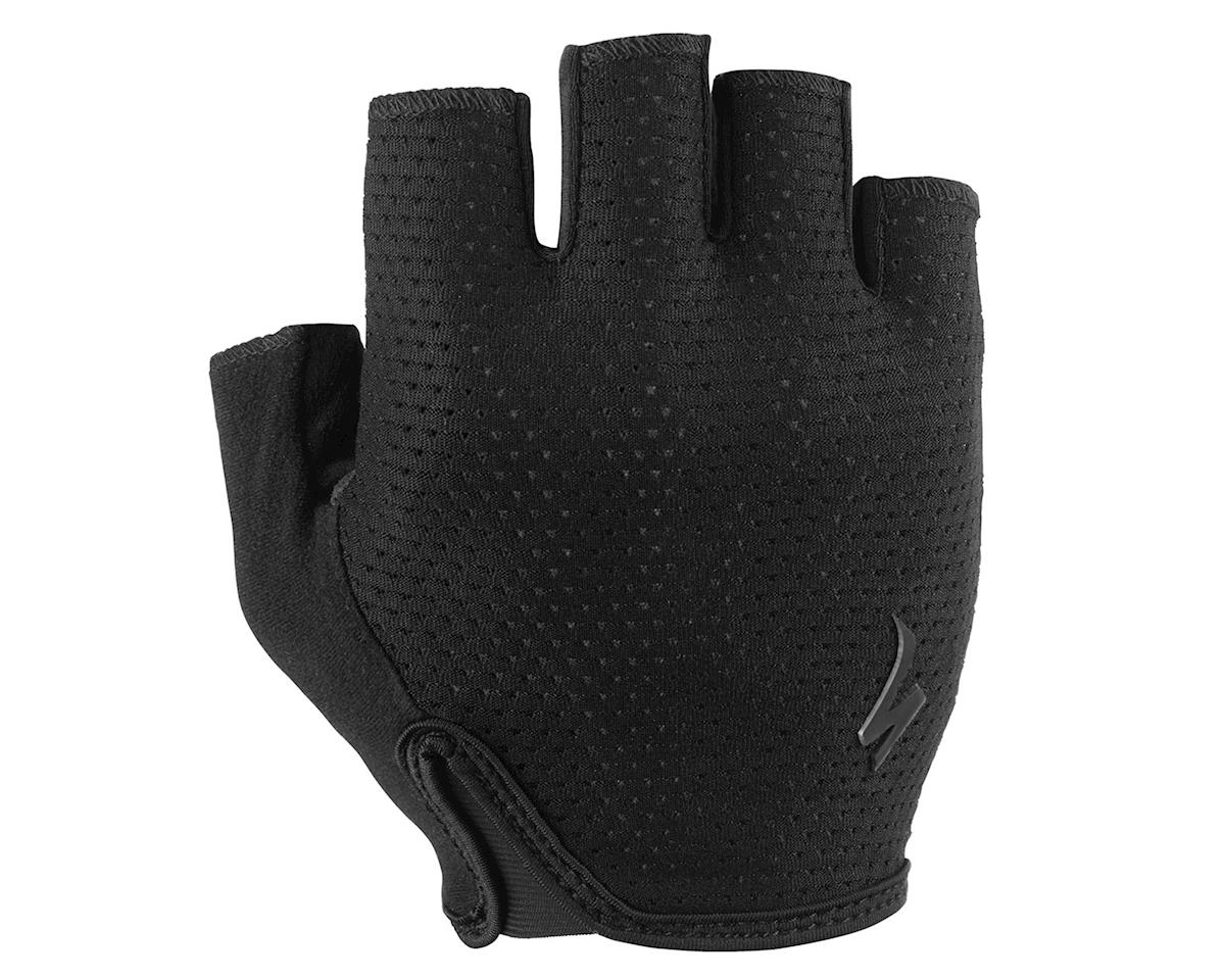Specialized Body Geometry Grail Short Finger Glove (Black) (L)