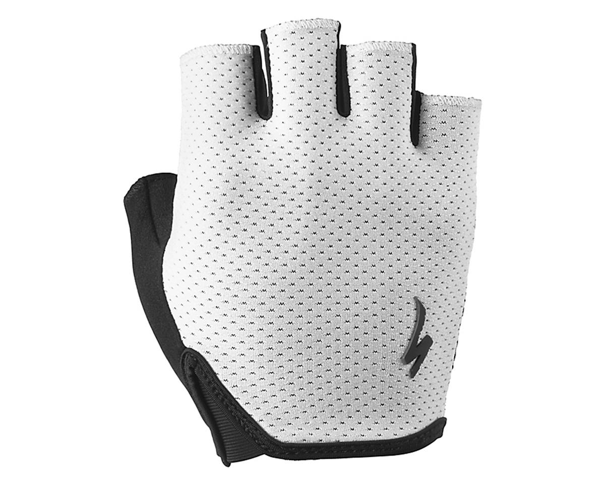 Specialized Body Geometry Grail Short Finger Glove (Black/White)