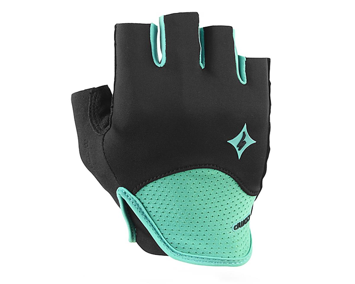 Specialized SL Comp Women's Short Finger Glove (Emerald Green/Black)