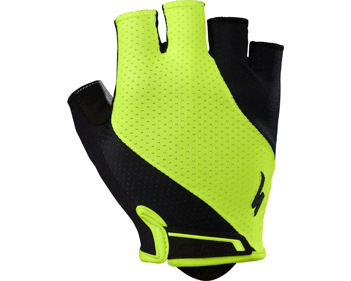 Specialized Body Geometry Gel Gloves (Black/Neon Yellow) (2XL)