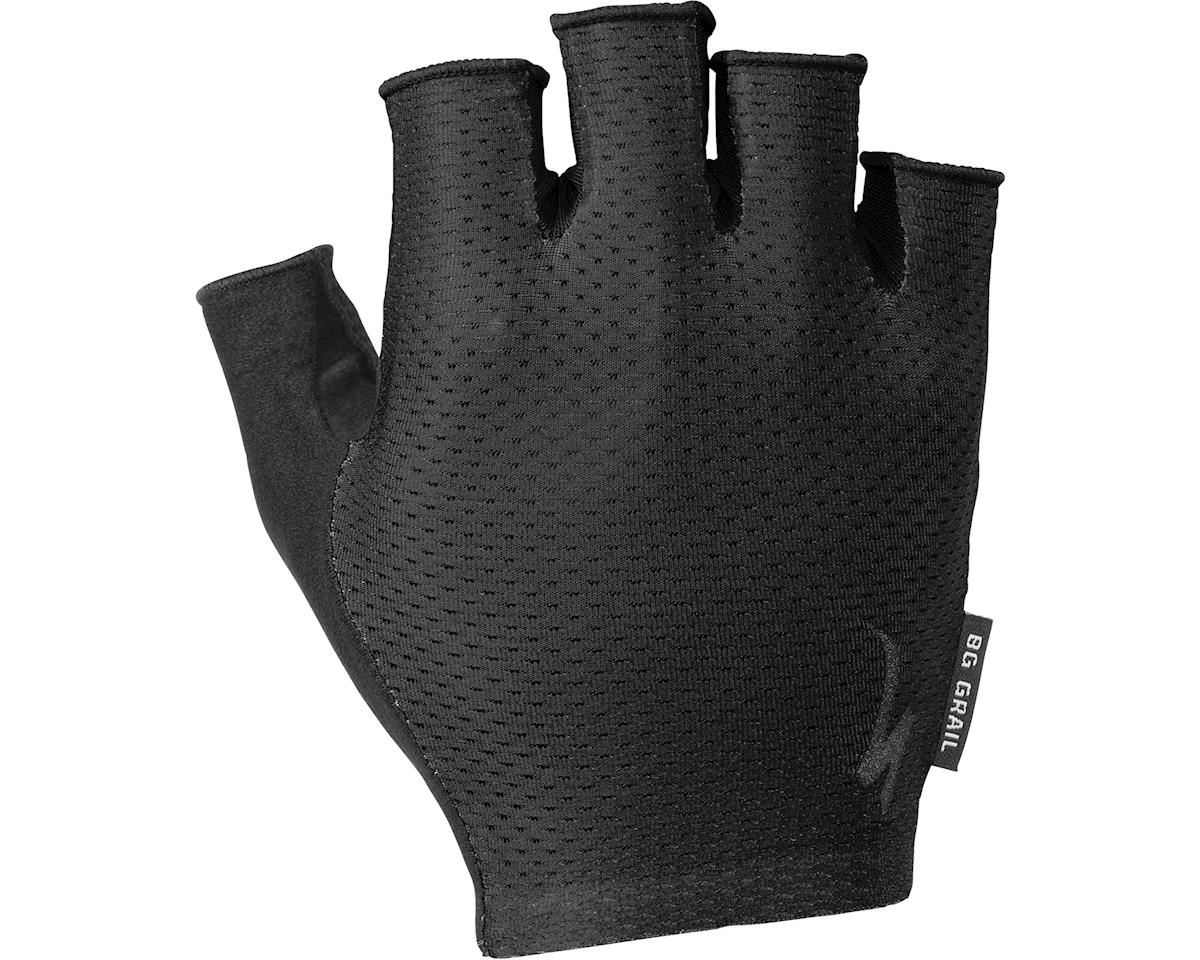 Specialized Body Geometry Grail Short Finger Gloves (Black)