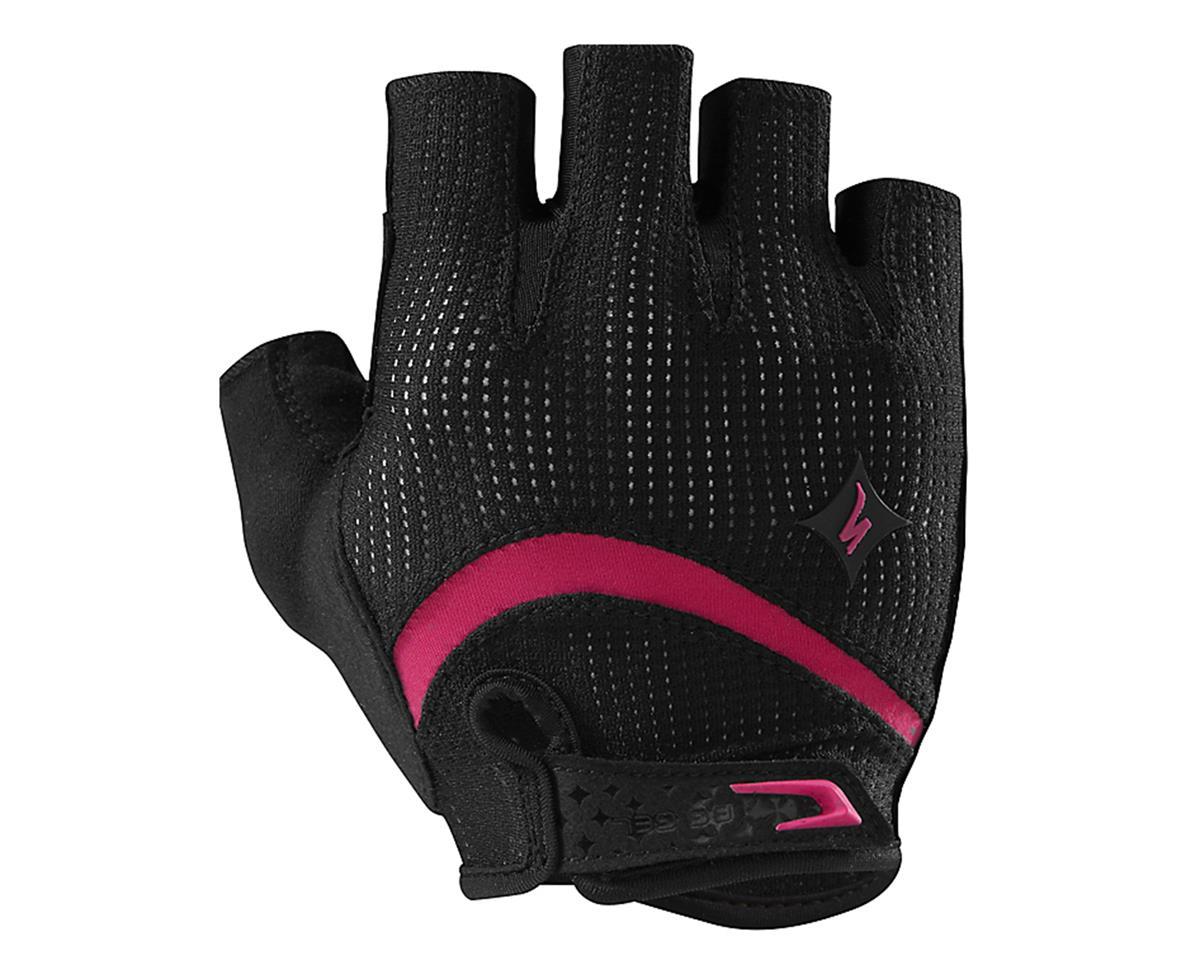 Specialized Body Geometry Gel Short Finger Women's Glove (Black/Pink) (S)