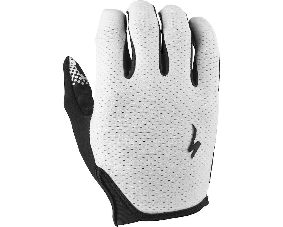 Specialized Grail Long Finger Gloves (Black/White) (2XL)