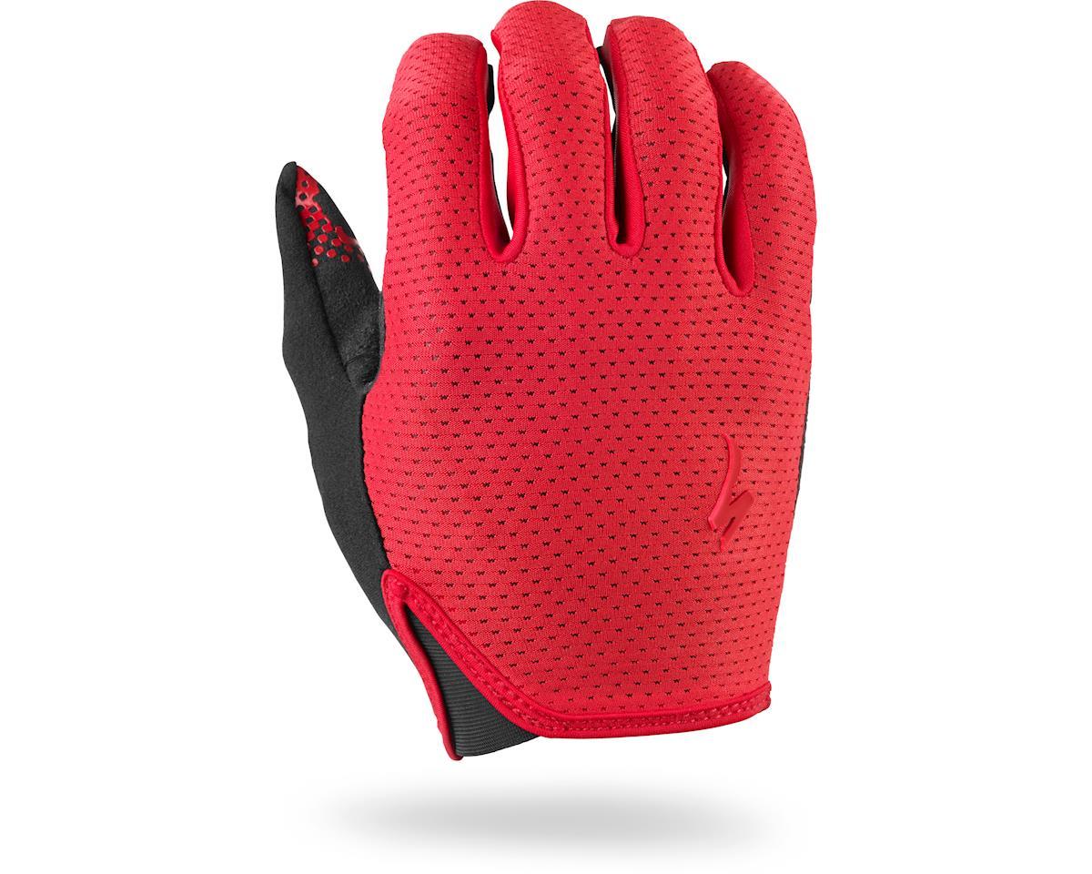 Specialized Grail Long Finger Gloves (Red)