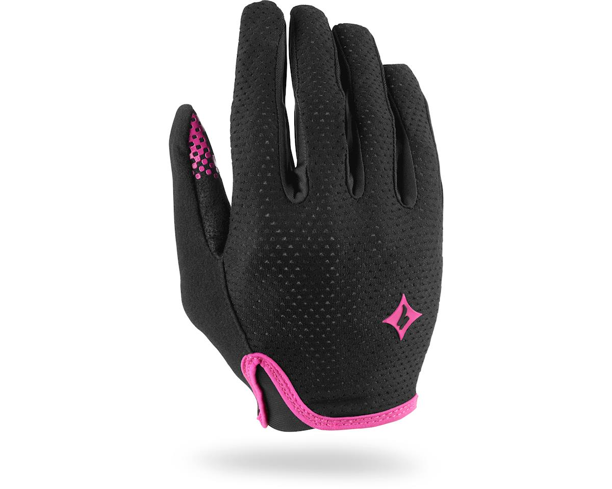 Specialized Women's Grail Long Finger Gloves (Black/Pink)