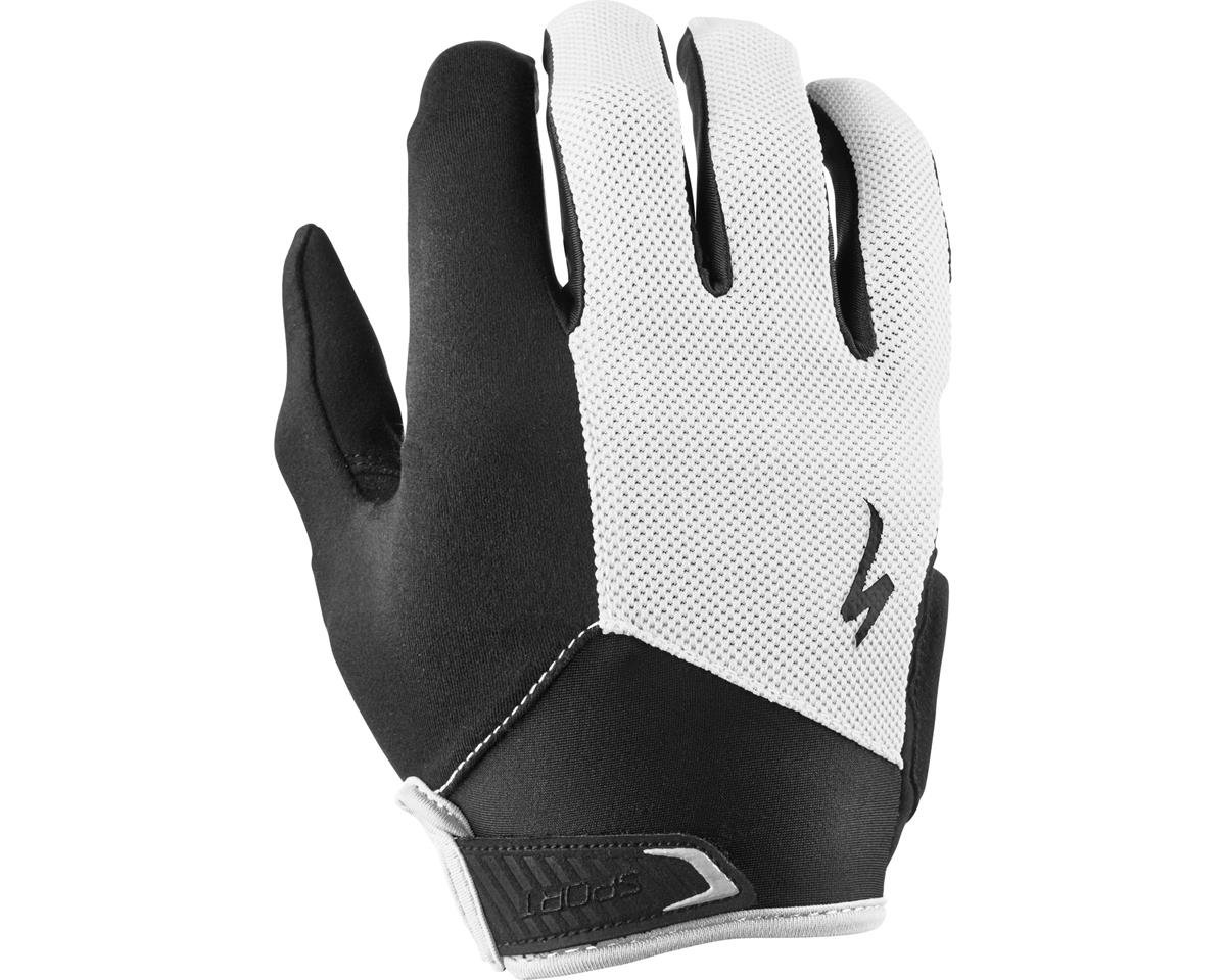Specialized Sport Long Finger (Black/White) (2XL)