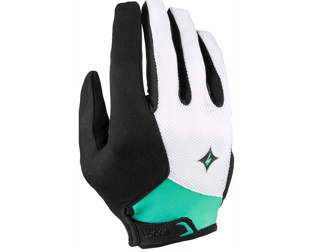 Specialized Women's Sport Long Finger (White/Emerald) (2XL)