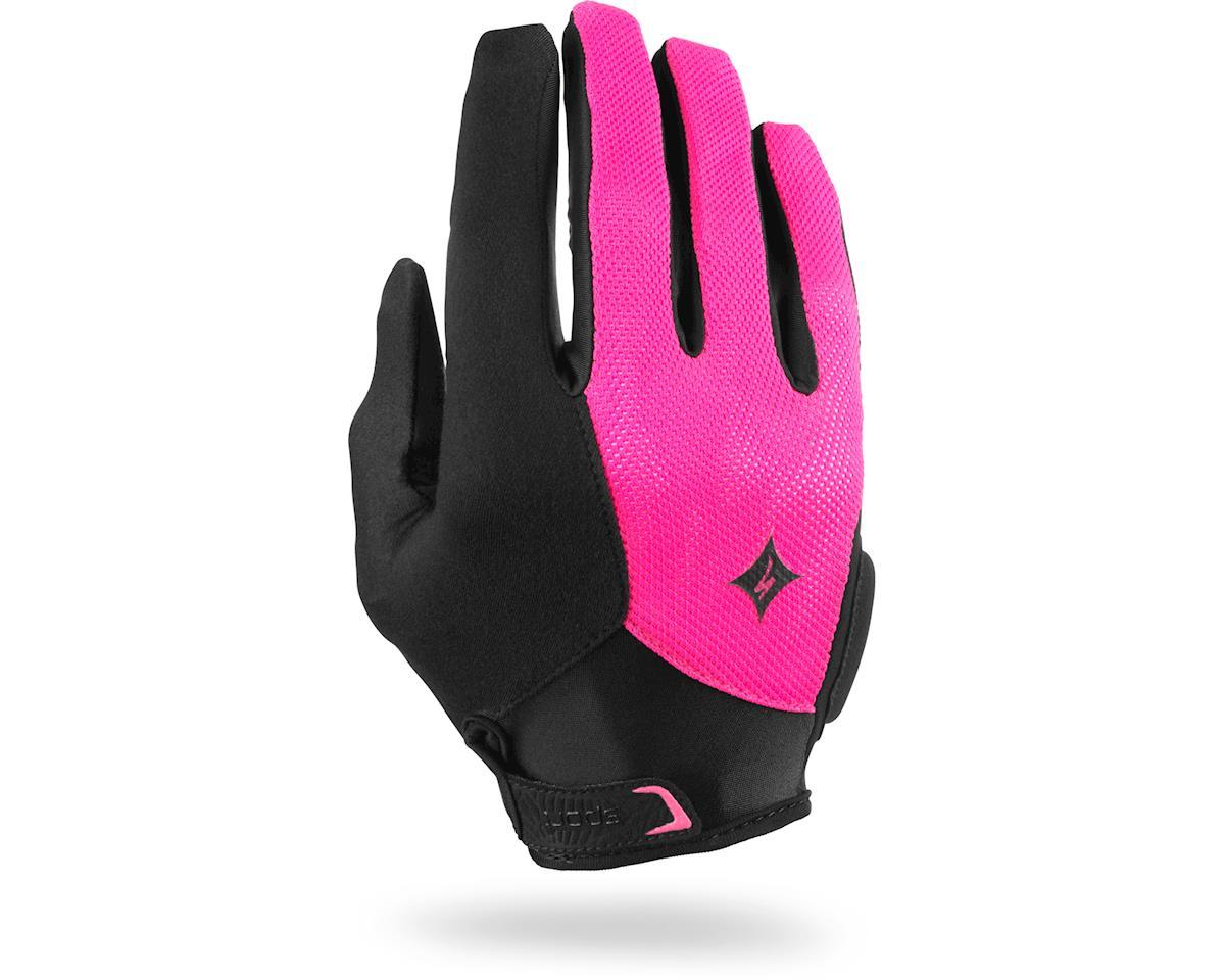 Specialized Women's Sport Long Finger (Black/Neon Pink) (2XL)