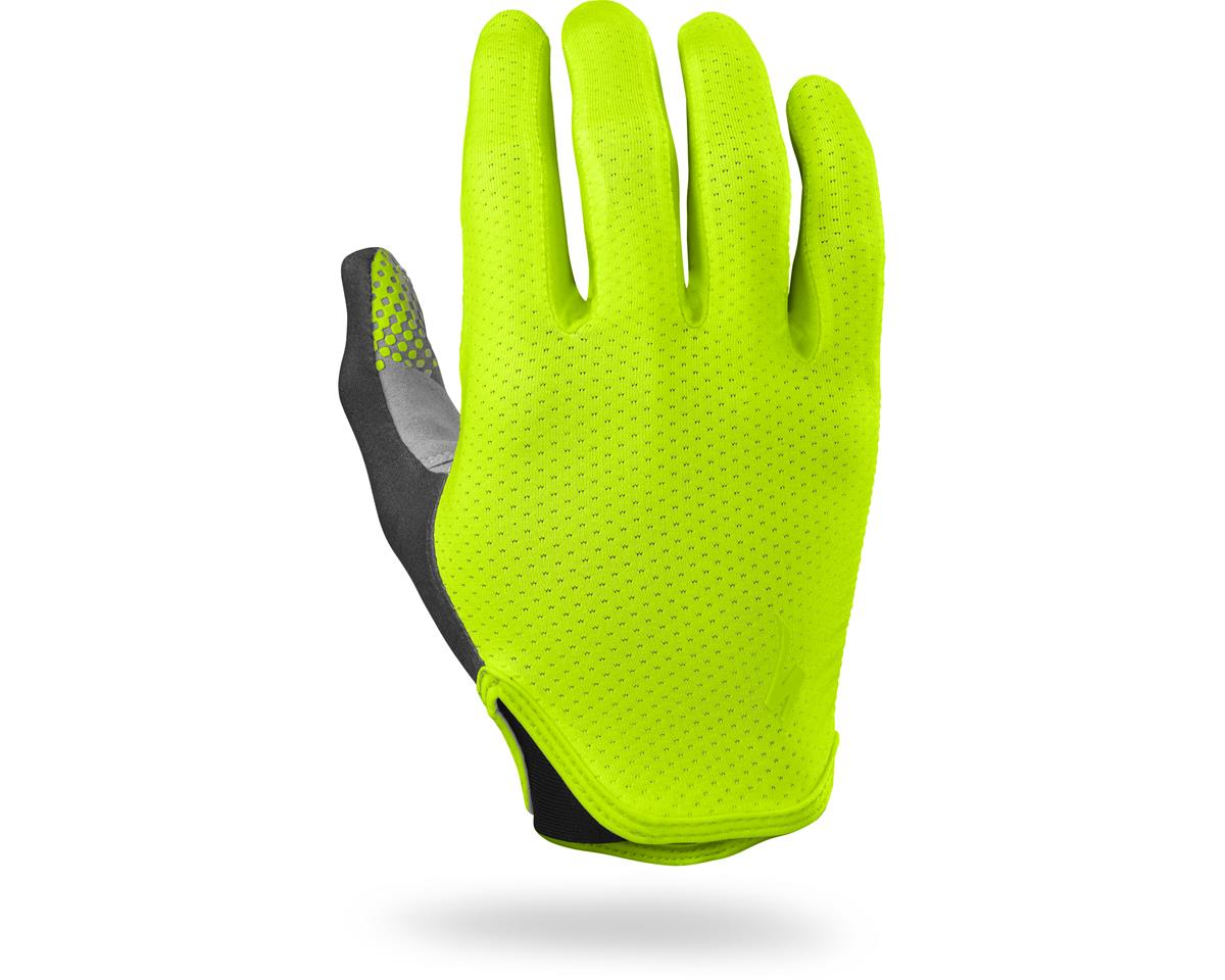 Specialized Grail Long Finger Gloves (Neon Yellow)
