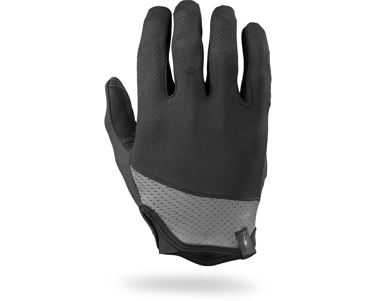 Specialized Trident Long Finger (Black/Carbon Grey)