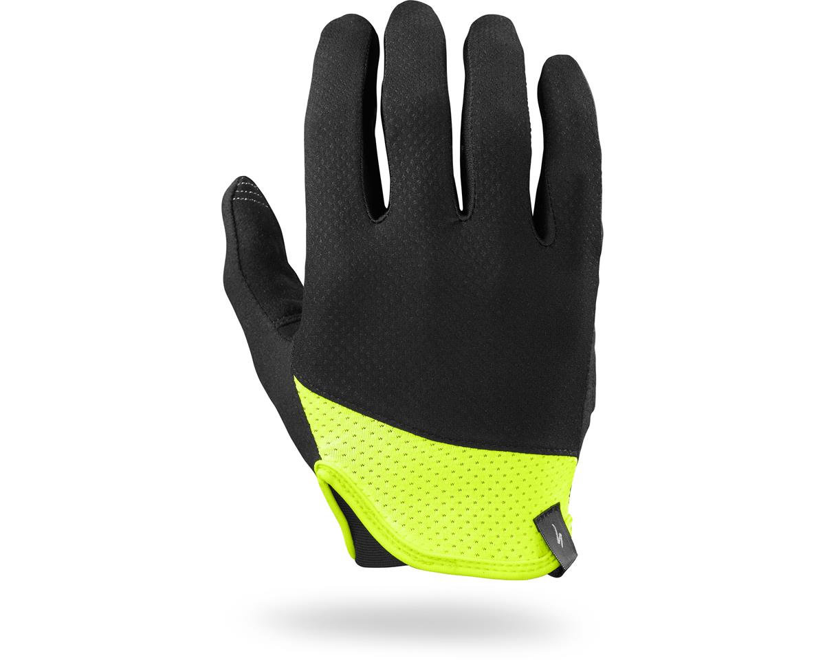 Specialized Trident Long Finger (Black/Neon Yellow) (2XL)