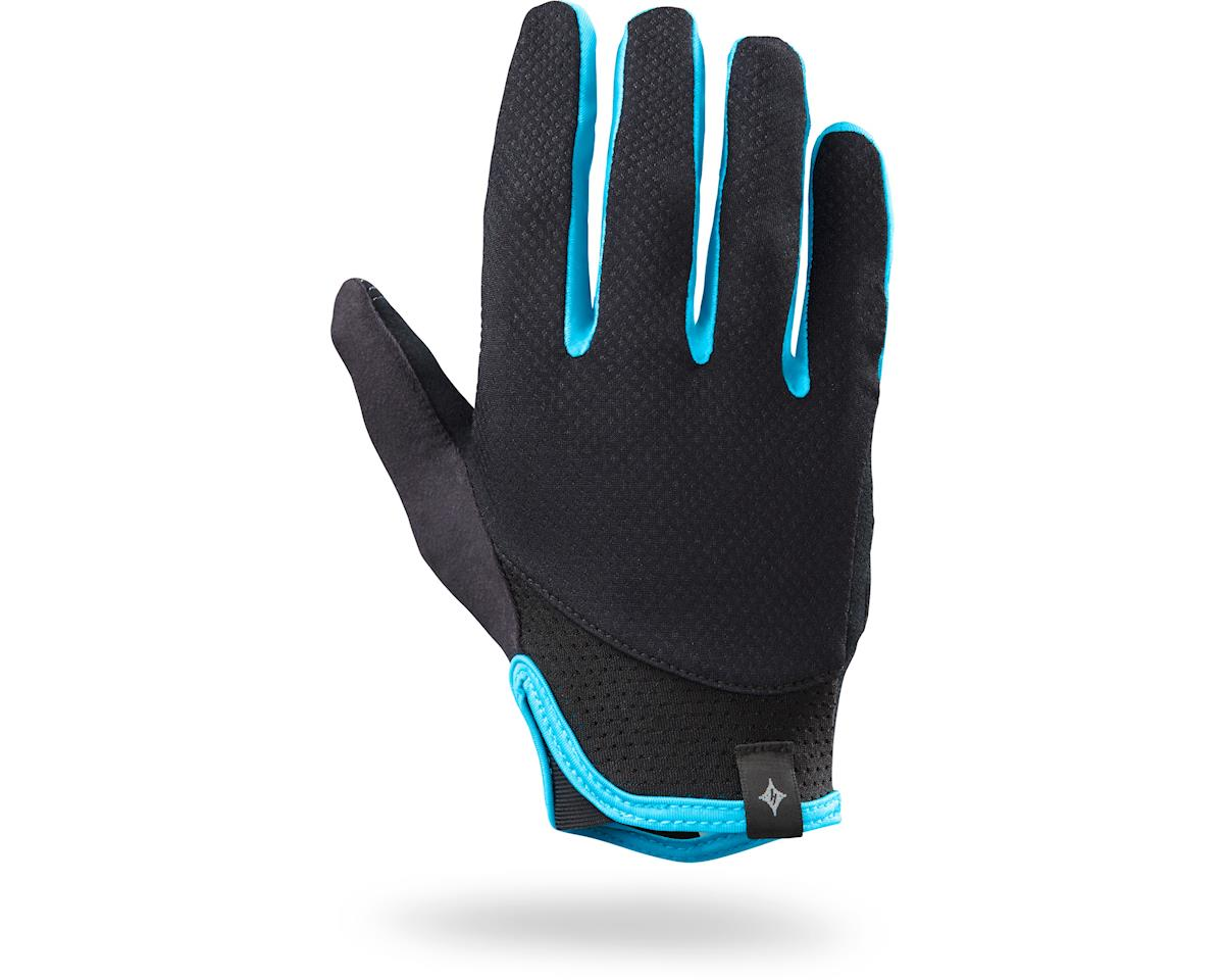 Specialized Women's Trident Long Finger (Black/Turquoise) (2XL)