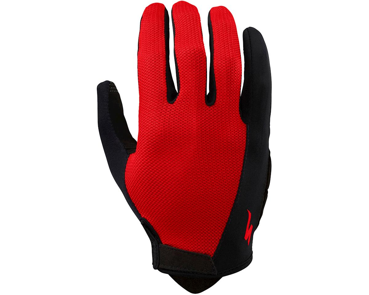 Specialized Body Geometry Sport Long Finger Gloves (Red) (2XL)