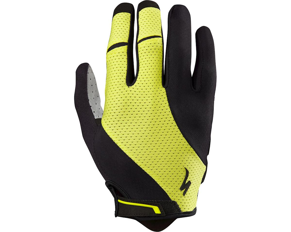 Specialized Body Geometry Gel Long Finger Gloves (Limon) (2XL)