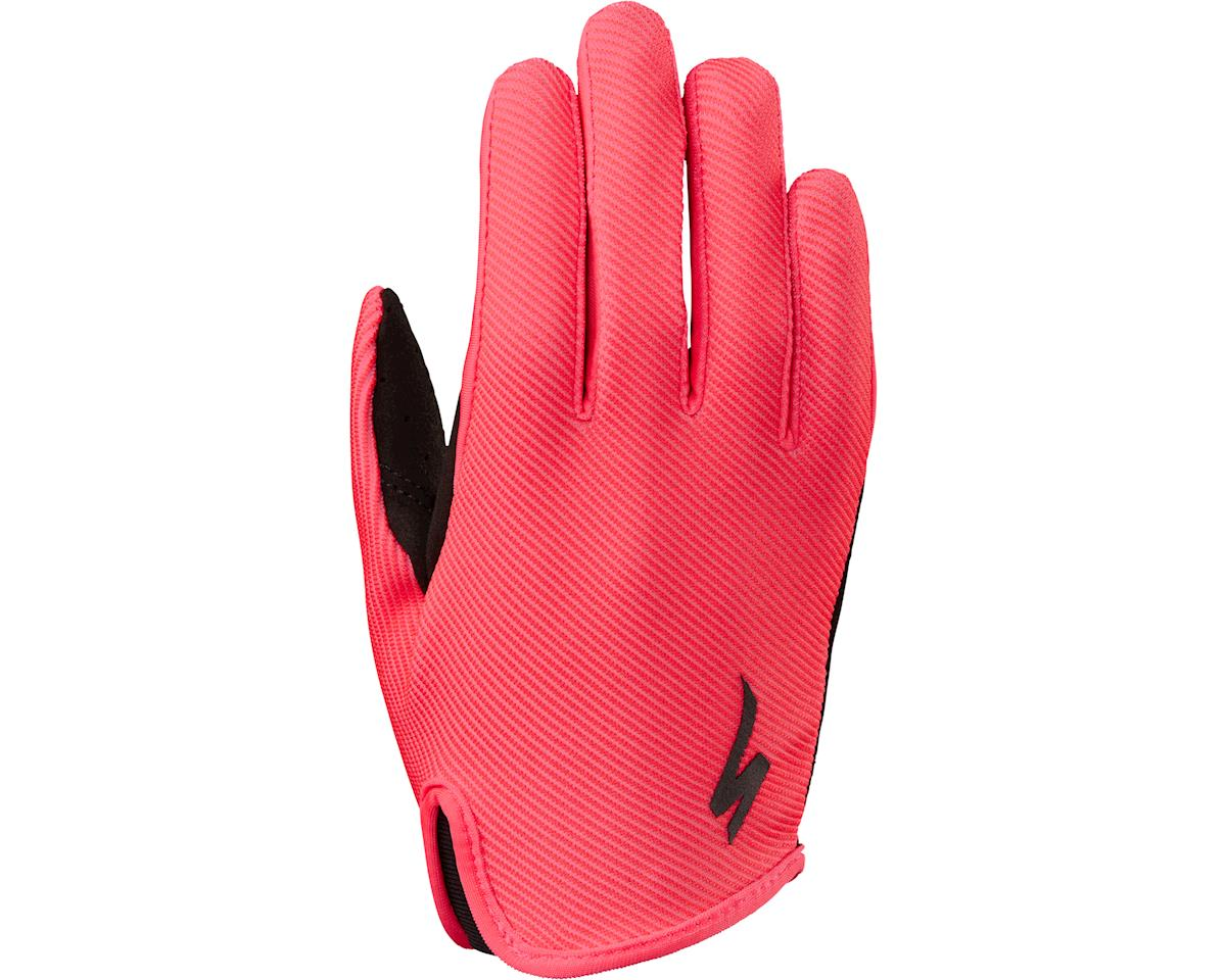 Specialized Kids' LoDown Gloves (Acid Red)
