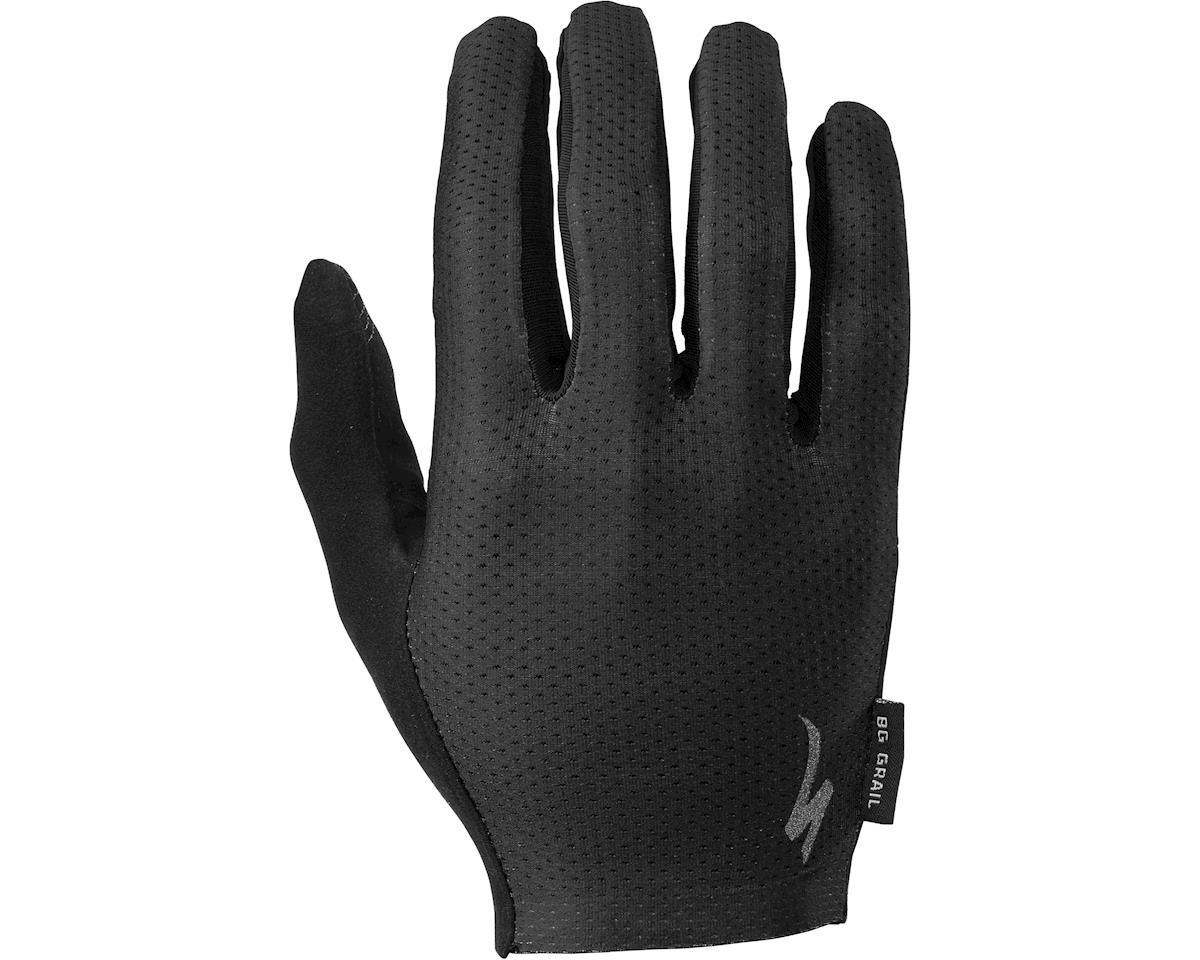 Specialized 2018 Body Geometry Grail Long Finger Gloves (Black)
