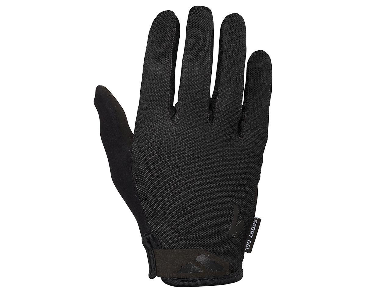 Specialized Women's Body Geometry Sport Gel Long Finger Gloves (Black)