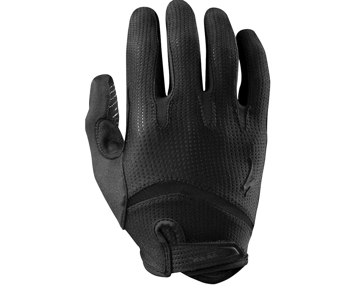 Specialized Body Geometry Gel Long Finger (Black/Black) (2XL)