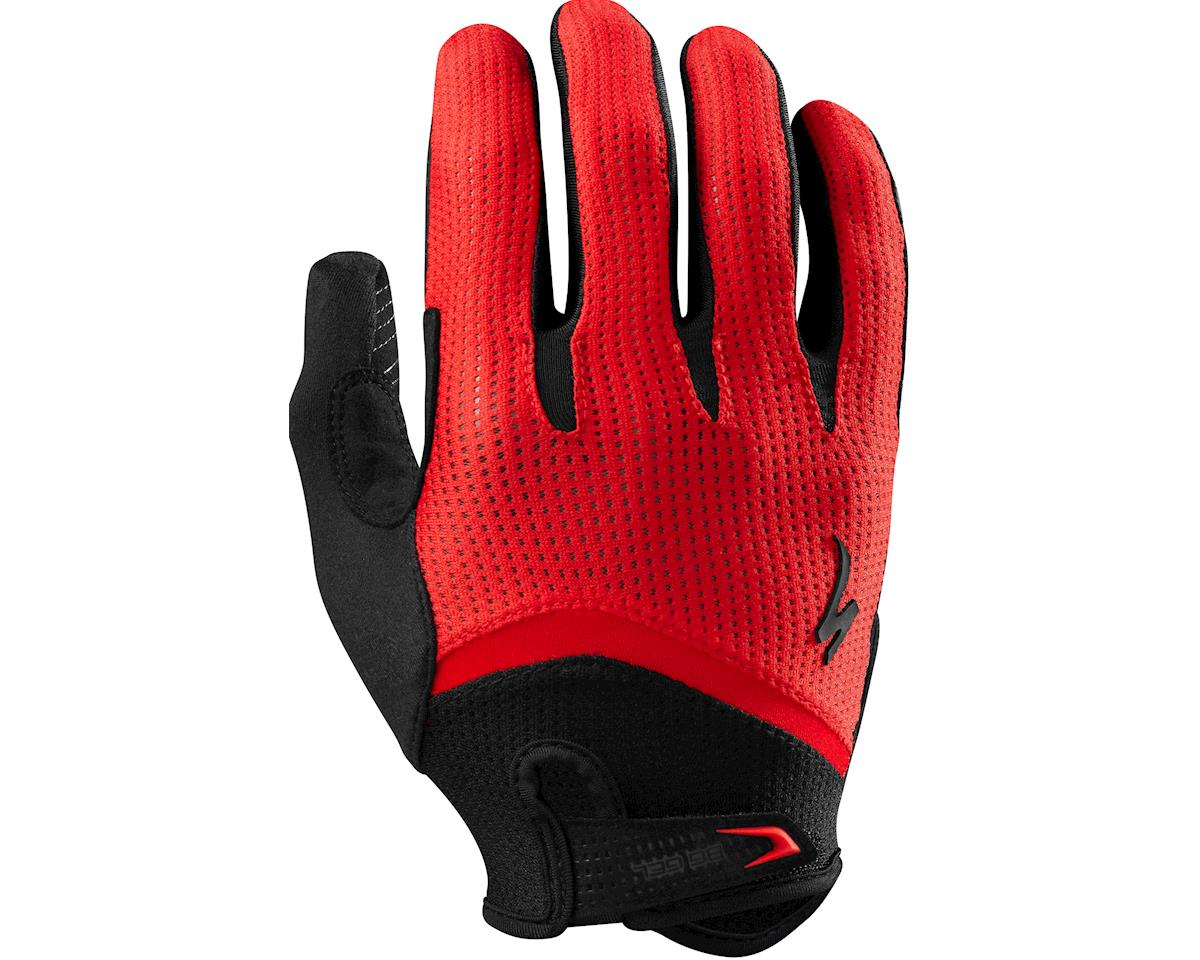 Specialized Body Geometry Gel Long Finger (Red) (2XL)