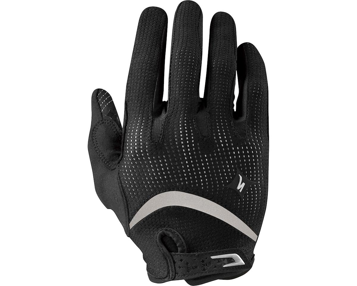 Specialized Women's Body Geometry Gel Long Finger (Black) (2XL)
