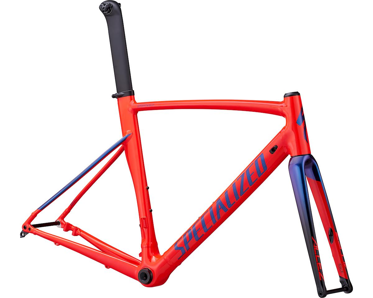 Specialized 2019 Allez Sprint Disc Frameset (Gloss Rocket Red/Black/Chameleon)