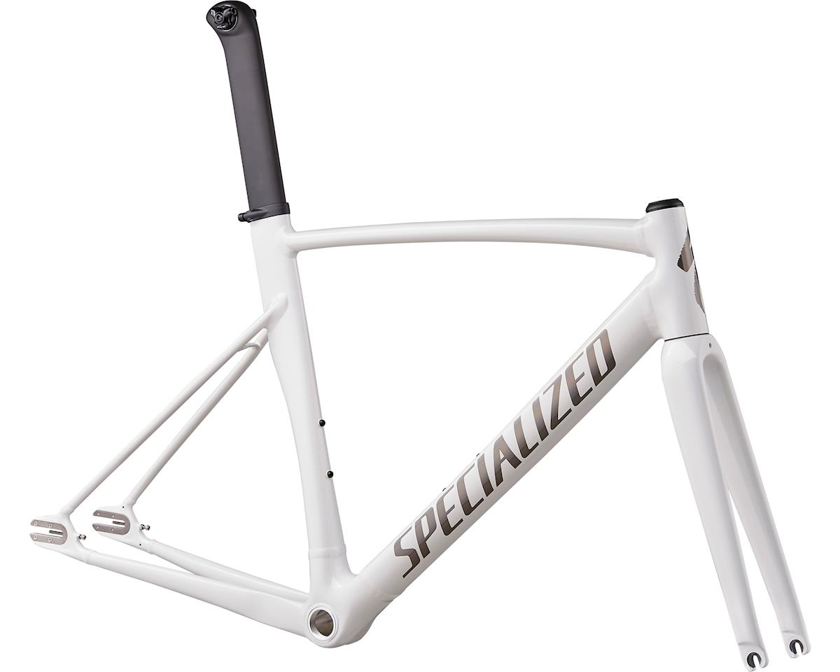 Specialized 2019 Allez Sprint Track Frameset (Gloss Prismatic White/Blaak Rainbow/Clean)