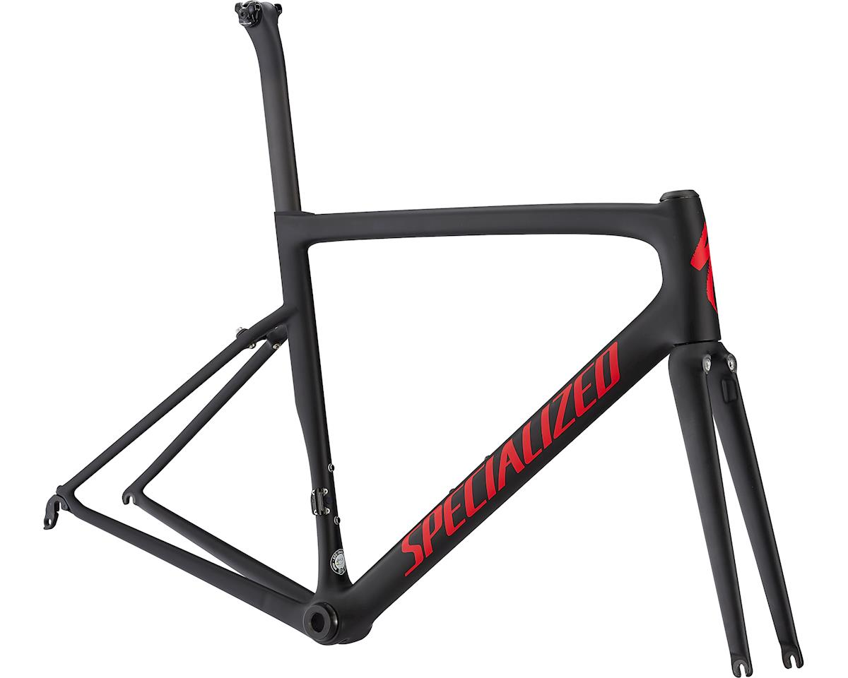 Specialized 2019 Tarmac Pro Frameset (Black/Gloss Flo Red/Clean)