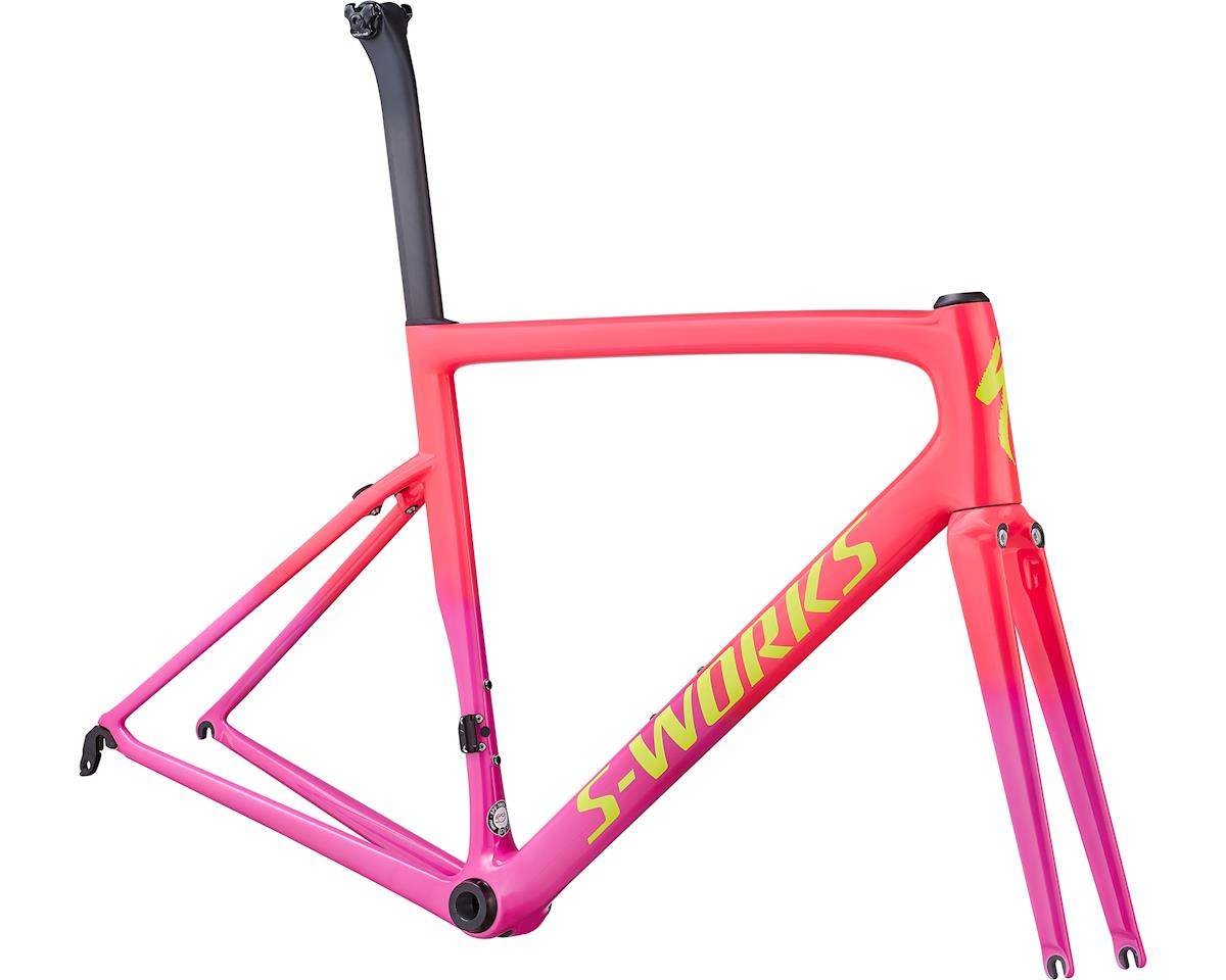 Specialized 2019 S-Works Tarmac Frameset (Gloss Acid Pink/Acid Purple/Yellow)