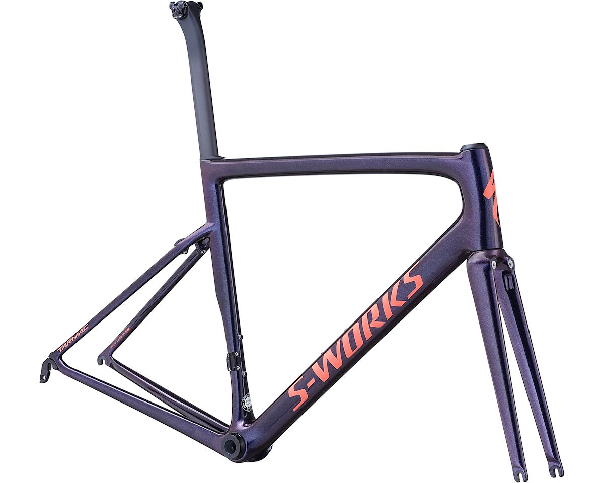 Specialized 2019 S-Works Tarmac Frameset (Gloss Chameleon/Satin Acid Red/Clean) (44)