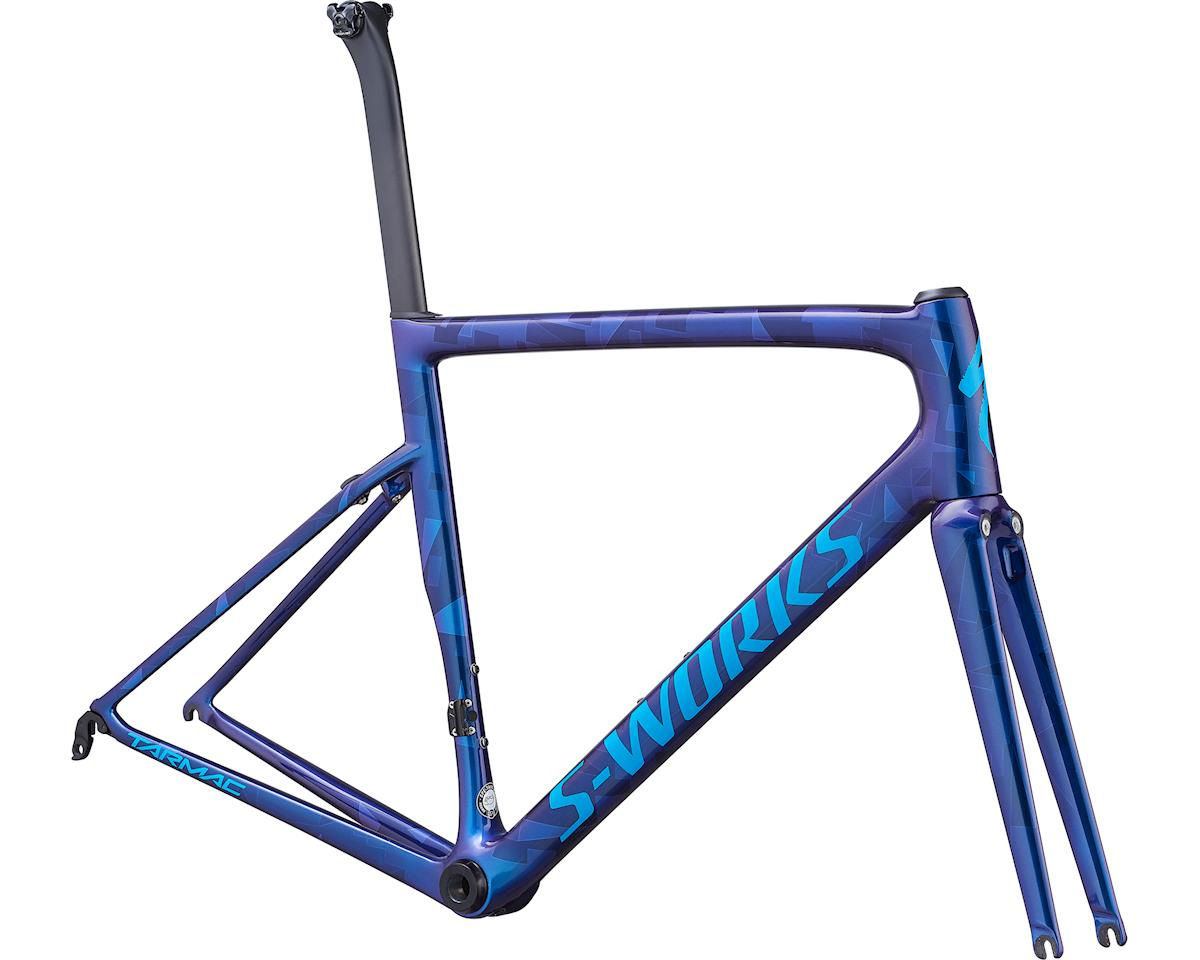 Specialized 2019 S-Works Tarmac Frameset (Gloss Chameleon/Cyan Blue)
